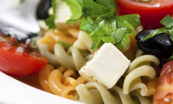 Crab & Veggie Pasta Salad