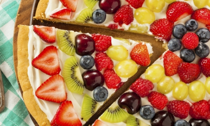 Crispy Fruit Pizza