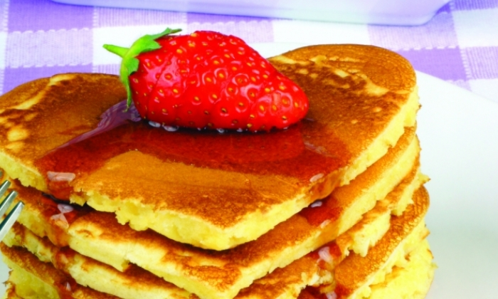 Be My Valentine Pancakes