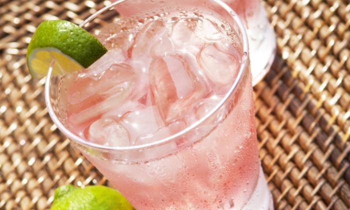 Raspberry Lemon Limeade
