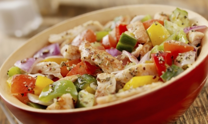 Thanksgiving Leftovers Salad