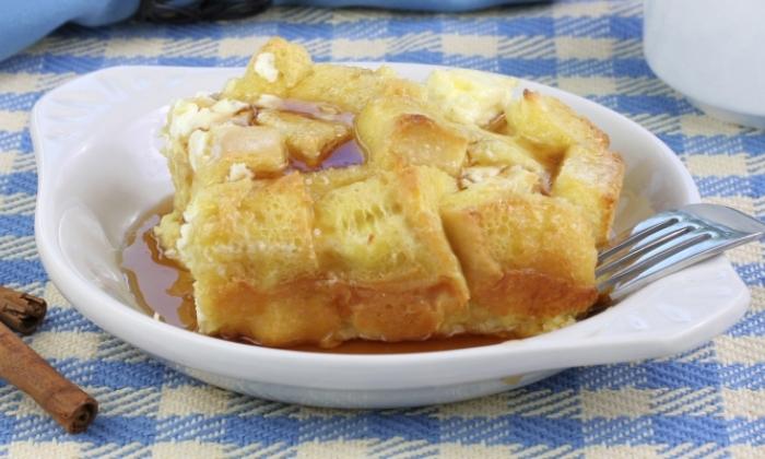Apple Cinnamon French Toast Casserole