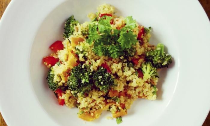 Broccoli-Carrot Quinoa