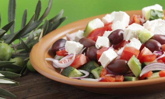 Chopped Mediterranean Greek Salad