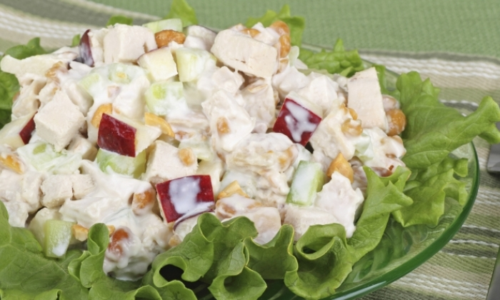 Fall Time Chicken Salad
