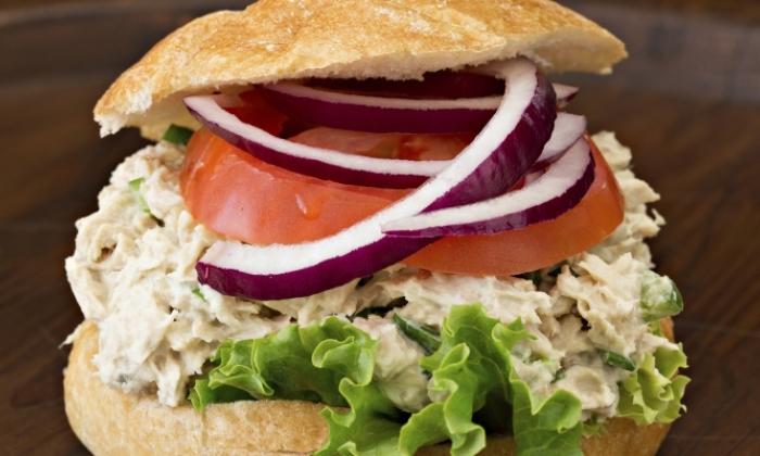 Italian Inspired Tuna Sandwich